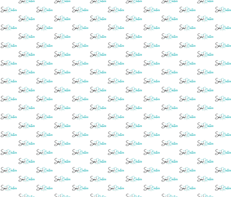 Sew Couture Designs Logo fabric by sew_couture_designs,llc on Spoonflower - custom fabric