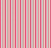 Mint Green and Coral Pink Cream Boho Nautical Stripe