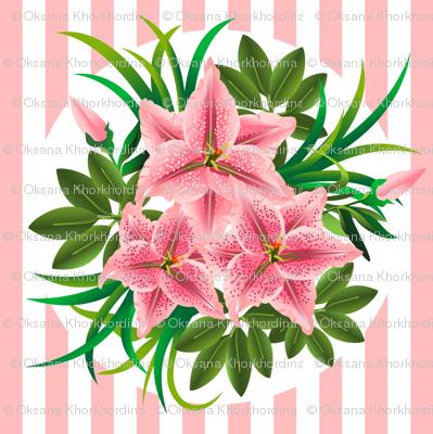 Lilies bouquets
