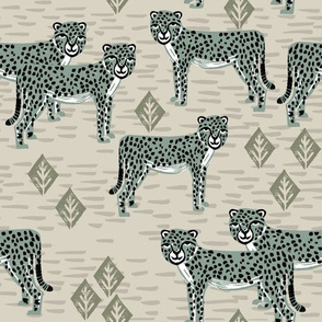 Cheetah - Raf Blue by Andrea Lauren