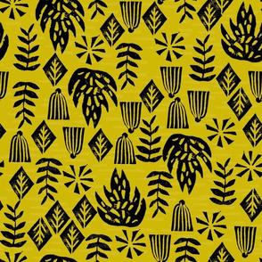 Safari Plants - Goldenrod by Andrea Lauren