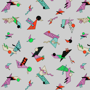 80s geometrics