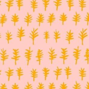 cuckoo tree (pink + gold)
