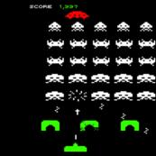 Invader Retro Video Game Nintendo