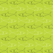 Sharks! Sea of Green - Small
