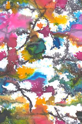 Watercolour kaleidoscope