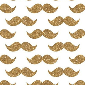 Sparkle Staches Gold
