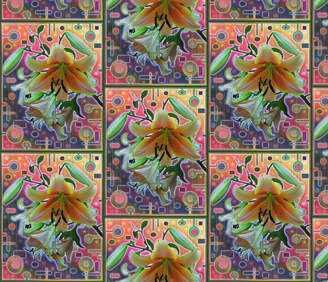 new_lily fabric by kgarvey on Spoonflower - custom fabric