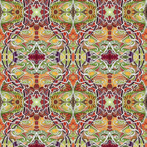 The First Breath of Autumn fabric by edsel2084 on Spoonflower - custom fabric