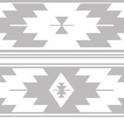 light gray kilim
