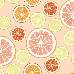 blush pink grapefruit love
