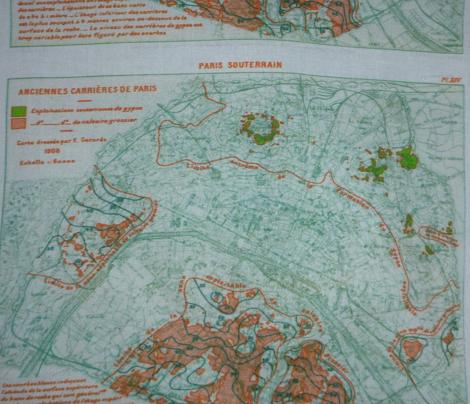 Plan of Paris 1908; public domain