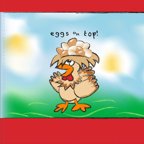 Eggs on Top! Shopping Bag