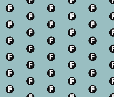 Where's  F? Who's F? What the?