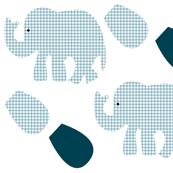 Cut and sew elephant