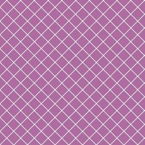 Gridlines Quilt Me! Purple