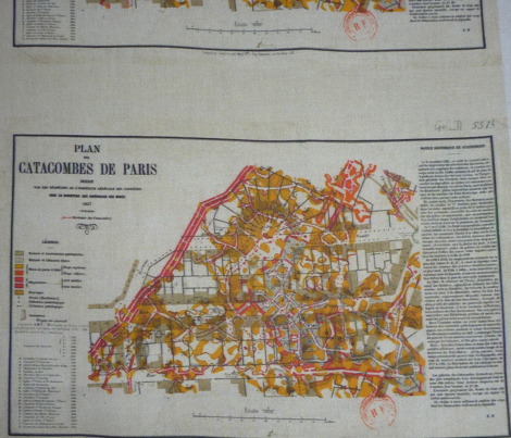 """Catacombes de Paris 1857 13"""" case"""