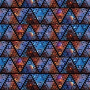 Triangle Repeat - Galaxy
