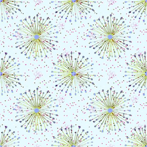 dusted dandies fabric by keweenawchris on Spoonflower - custom fabric