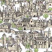 Medieval Village Large