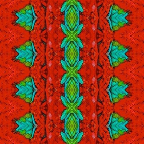 Painted Parrot Ribbon