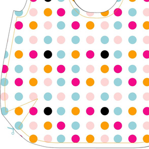 Reversible Cut-n-Sew Bag - Polka Dots