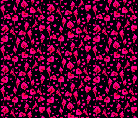 Neon Lily fabric by jadegordon on Spoonflower - custom fabric