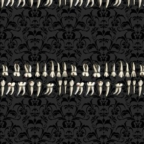 Gothic Lolita Teeth Print