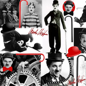 CHARLIE CHAPLIN COLLAGE