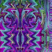 Perla Swerla purple with border