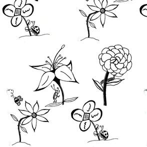 Bug Flowers