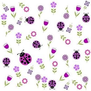 Ladybug Garden Violet