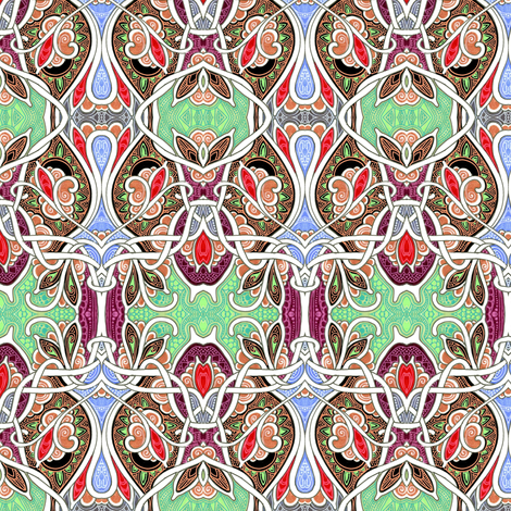 Doing the Charleston Again fabric by edsel2084 on Spoonflower - custom fabric