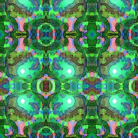 Alien trees fabric mugglz spoonflower for Alien print fabric