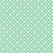 Maysville* (Green Stamps) || geometric diamonds flowers floral garden lattice vintage farm feedsack feed sack plaid pastel
