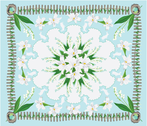 lily_lily6 fabric by anniecat on Spoonflower - custom fabric
