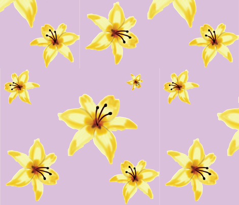 lily-01 fabric by aliciamobley on Spoonflower - custom fabric