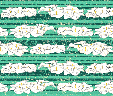 Fiaba The Lilies fabric by fiaba_fabrics on Spoonflower - custom fabric