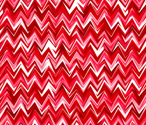 ruby chevron fabric by weavingmajor on Spoonflower - custom fabric