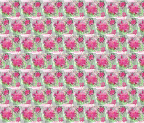 Water Lily Sublimation fabric by deannakei on Spoonflower - custom fabric