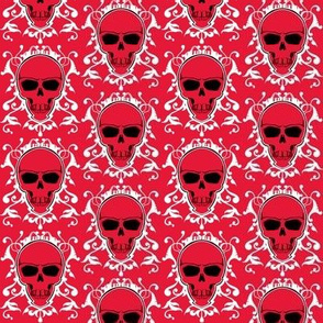 Skeletal Damask 2