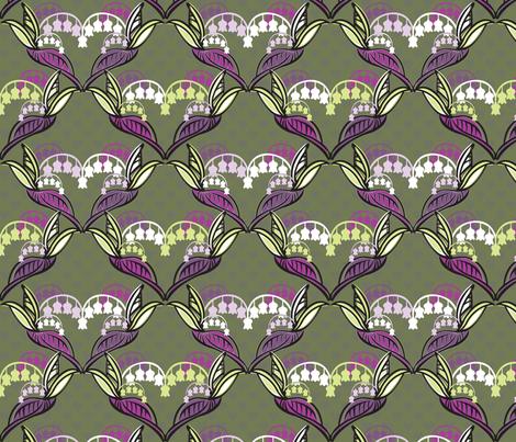 LilyHearts fabric by paula's_designs on Spoonflower - custom fabric
