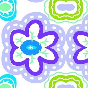 Bold Purple Flower