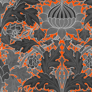 William Morris ~ Growing Damask ~ Halloween