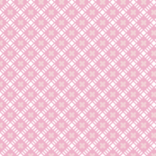 Maysville* (Pink Cow)  || geometric diamonds flowers floral garden lattice vintage farm feedsack feed sack plaid pastel