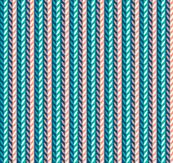 Springwood (Blue & Coral)