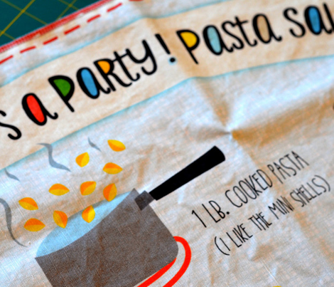 it's a party! pasta salad