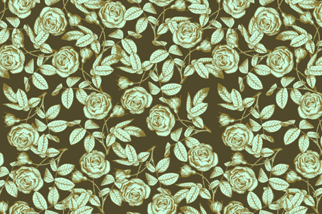 Limonana fabric by brainsarepretty on Spoonflower - custom fabric