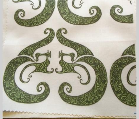 Sew Stylish - Bold Black & Green