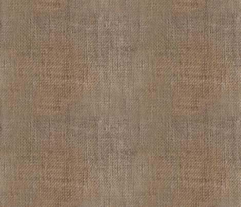 Burlap Rustic Sack Cloth Print